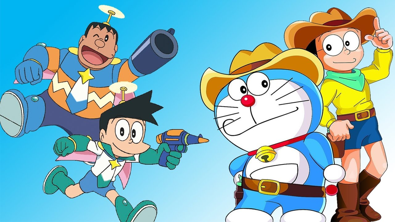 hình ảnh hoạt hình doremon dễ thương